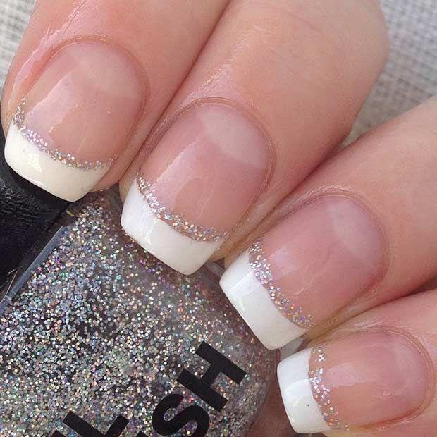 Nice 31 Elegant Wedding Nail Art Designs