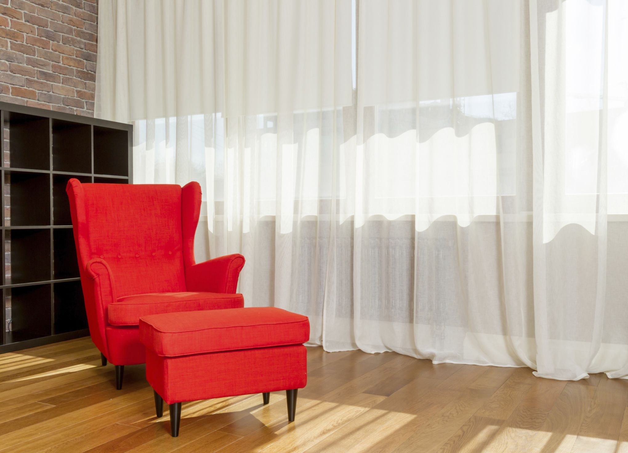 How To Hang Fabric To Hide Basement Walls Hunker Unfinished Basement Walls Basement Walls Floor To Ceiling Curtains