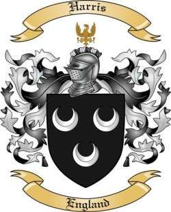 Harris Family Coat of Arms from England | Tattoo ideas