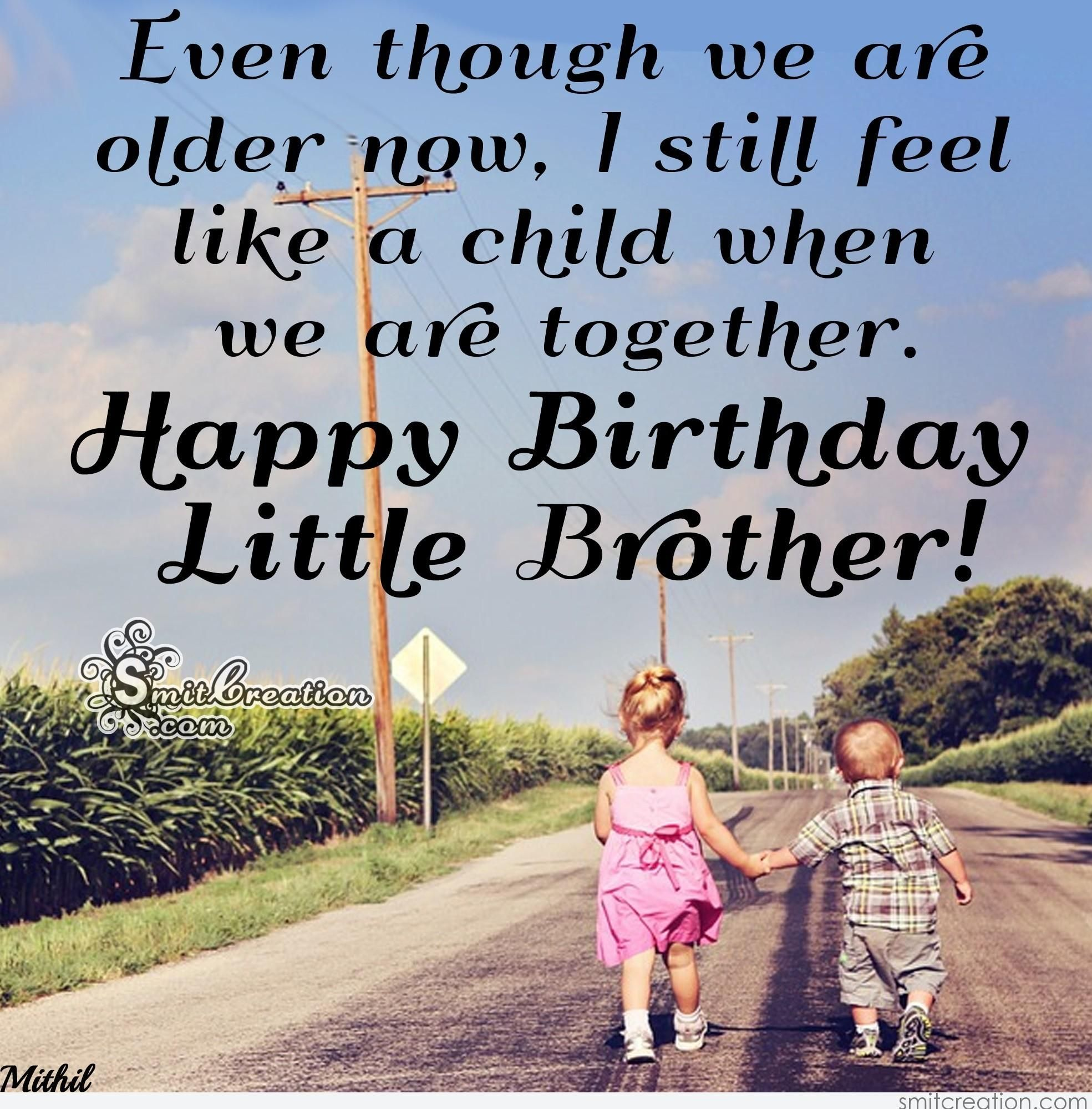 Happy Birthday Wishes To Younger Brother Yahoo India