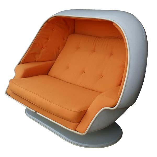 Egg Sofa W/ Built In Speakers