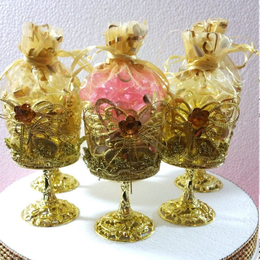 12 New Royal Gold Cups Favors Royal Princess Baby Shower Theme