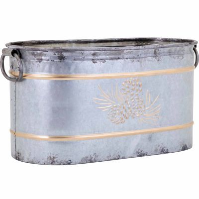Perfect Trisha Yearwood Home Collection Galvanized Metal Tub, Large | Christmas  List | Pinterest | Metal Tub, Trisha Yearwood And Tubs