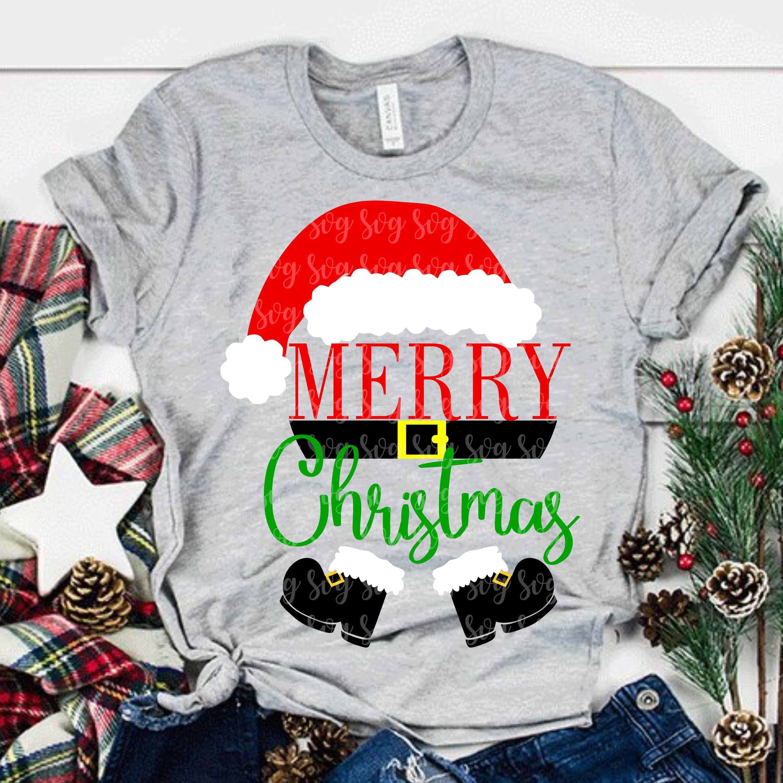 santa claus svg, christmas svg,santa hat svg,Merry