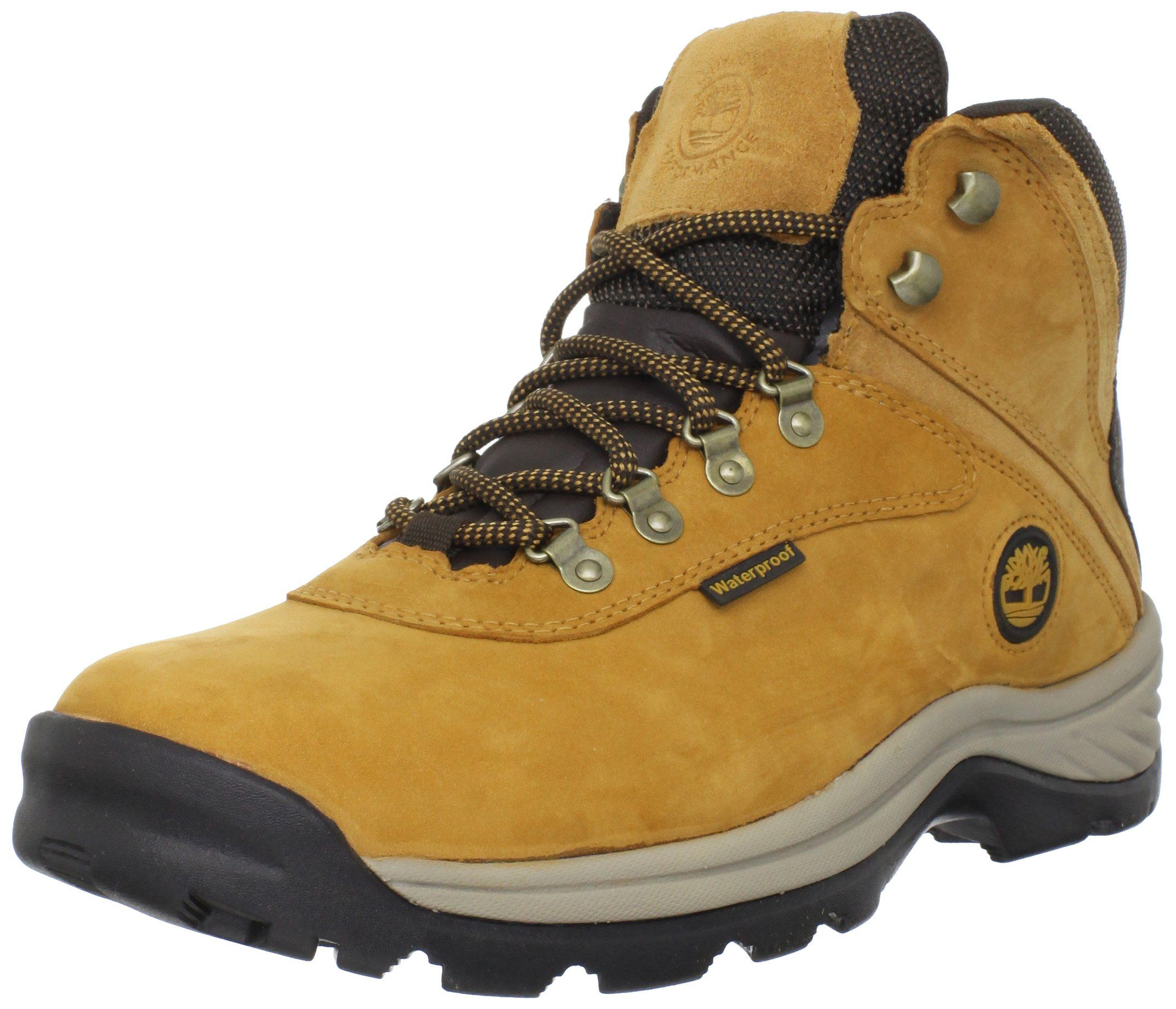 Timberland White Ledge Mid Waterproof Boot Mens Wheat 15