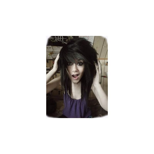 2014 Emo Hairstyles Found On Polyvore Hair Styles Emo Hair Emo Scene Hair
