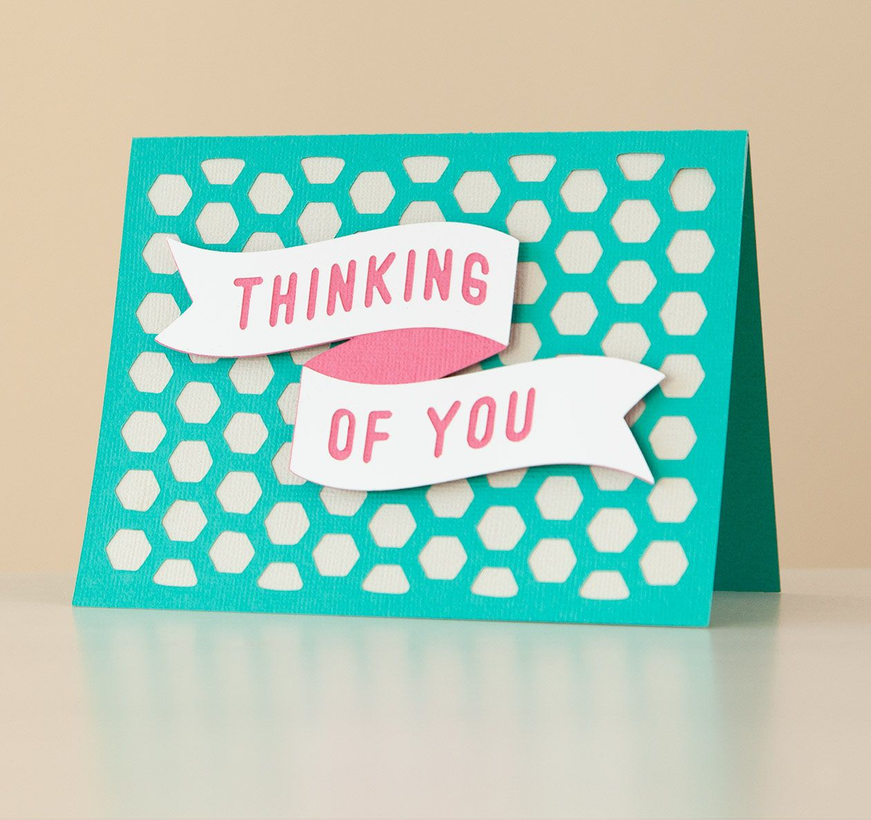 Spring Fling Cricut Cartridge Thinking Of You Card Make It Now With The Cricut Explore Machine In Cricut Design Spa Cards Handmade Card Making Cricut Cards