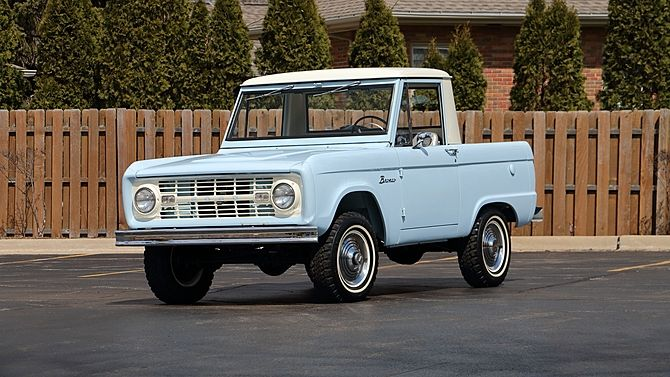 1966 Ford Bronco 170 Ci 3 Speed Presented As Lot F213 At