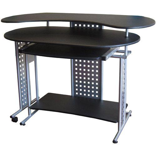 Onespace Regallo Expandable Computer Desk Walmart Com In 2020 Computer Desks For Home Computer Desk Gaming Computer Desk
