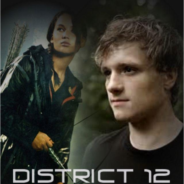 The Hunger Games: Katniss Everdeen and Peeta Melark