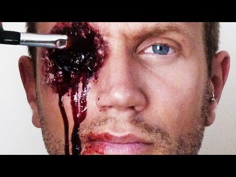 Comment faire une fausse blessure youtube maquillage effets sp ciaux halloween pinterest - Comment faire une fausse blessure ...