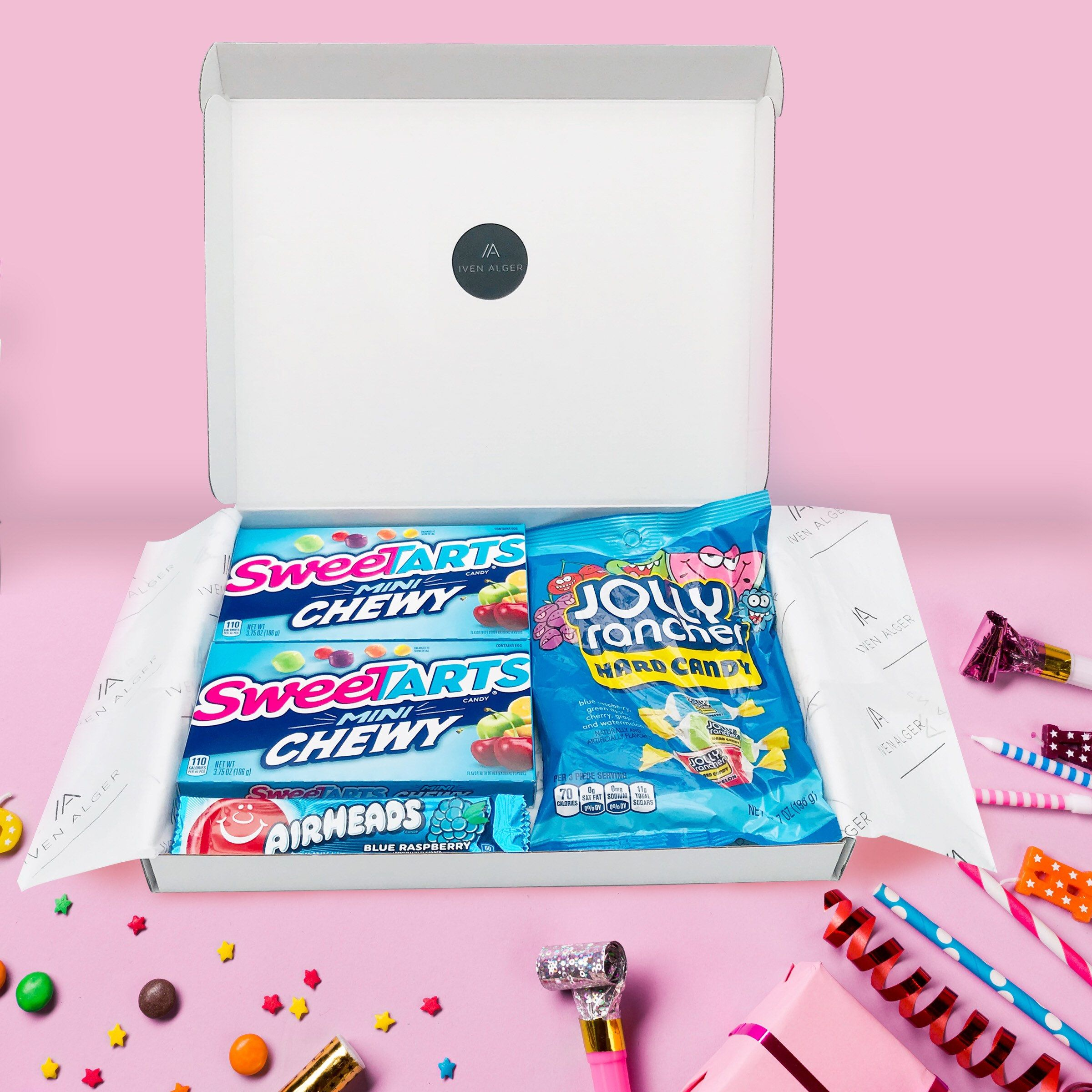 Americanusa candy sweets hamper gift personalised gift