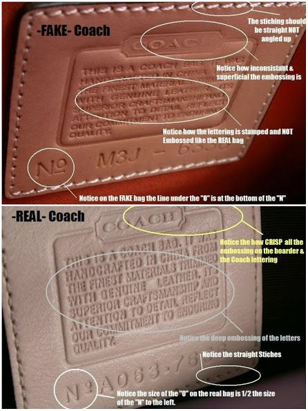How To Spot A Fake COACH Bag? Pictures And Videos Here
