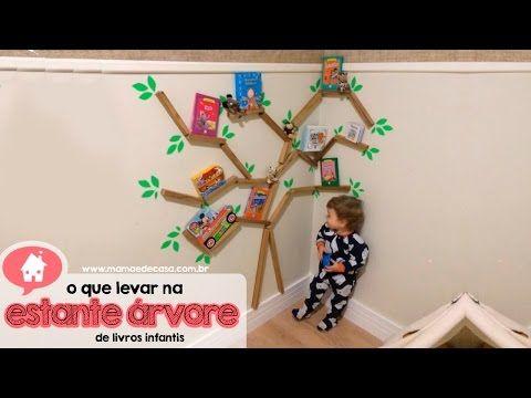Arvore Prateleira Quarto Infantil Pesquisa Google Arvore De