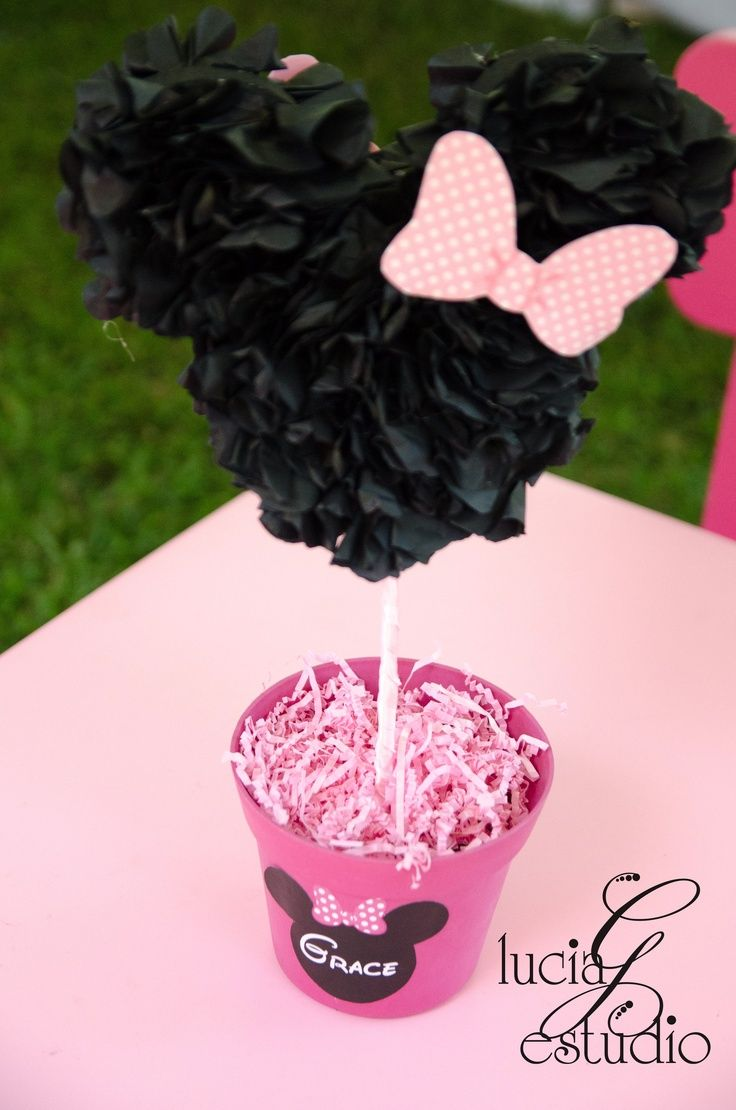 Minnie Mouse 1st Birthday Centerpieces Minnie Mouse 1st Birthday