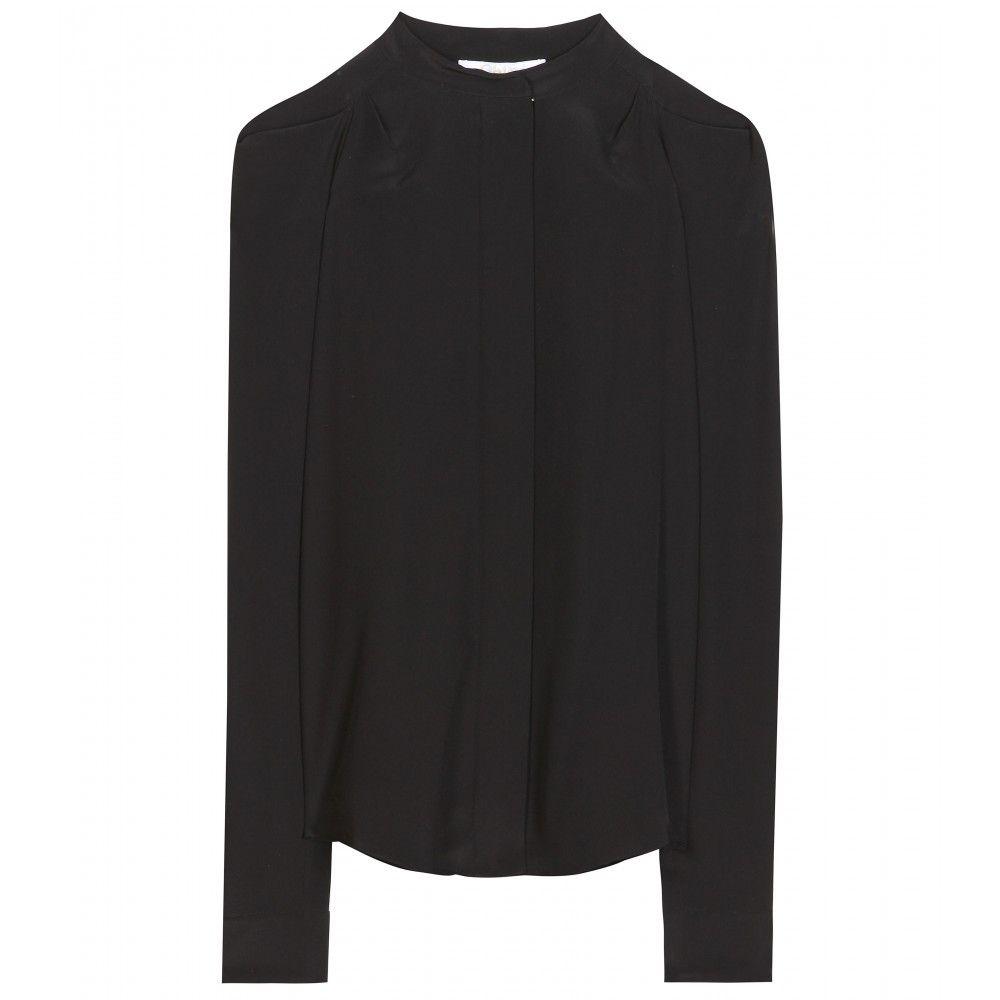 Chloé - Silk crepe de chine shirt - mytheresa.com GmbH