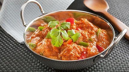 إيدام هندي شهي بالدجاج Recipe Vegetarian Dinners Chicken Jalfrezi Recipe Spicy Dishes