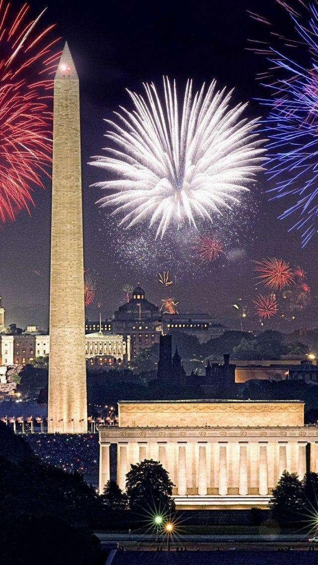 Trip To Washington Dc Fireworks Wallpaper 4th Of July Celebration