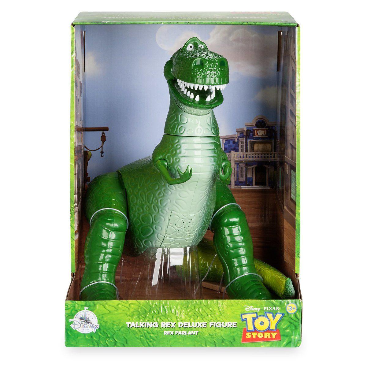 Disney Toy Story 3 Collection Talking REX Dinosaur 11 Phrases 12 Disney  Store 38664f81668