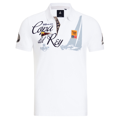 Gaastra Polo Shirt Royal Cup Heren Wit