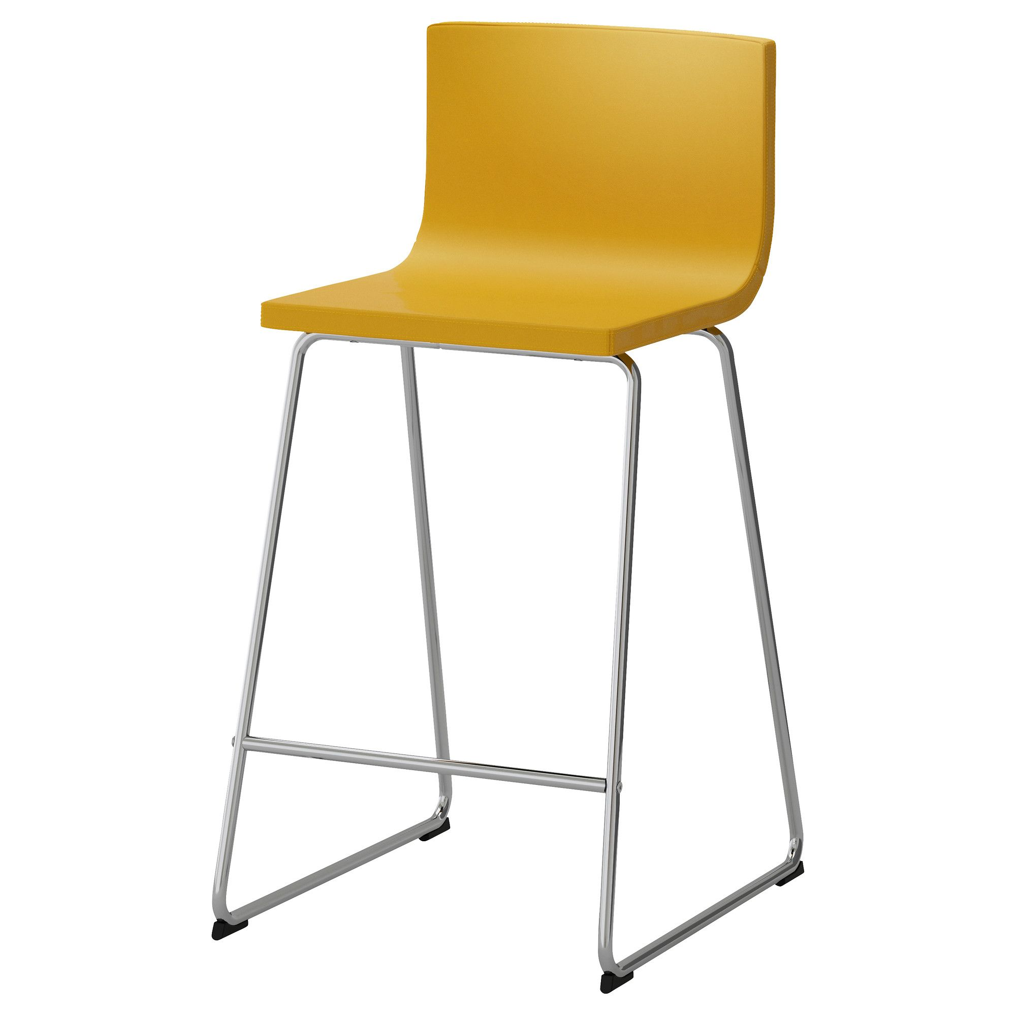 IKEA BERNHARD Bar stool with backrest You sit fortably
