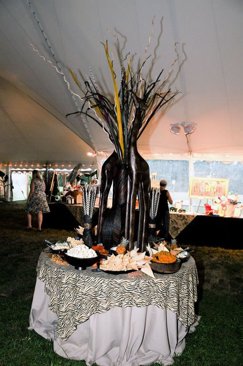 African theme party out of africa theme party african for African party decoration