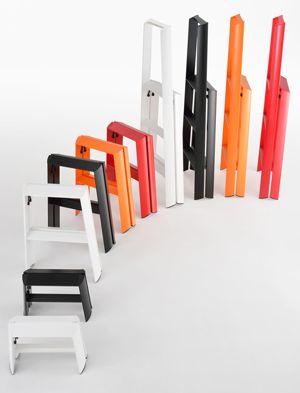 Metaphys Lucano Step Stools Storage Design Step Ladders Modern Interior Design