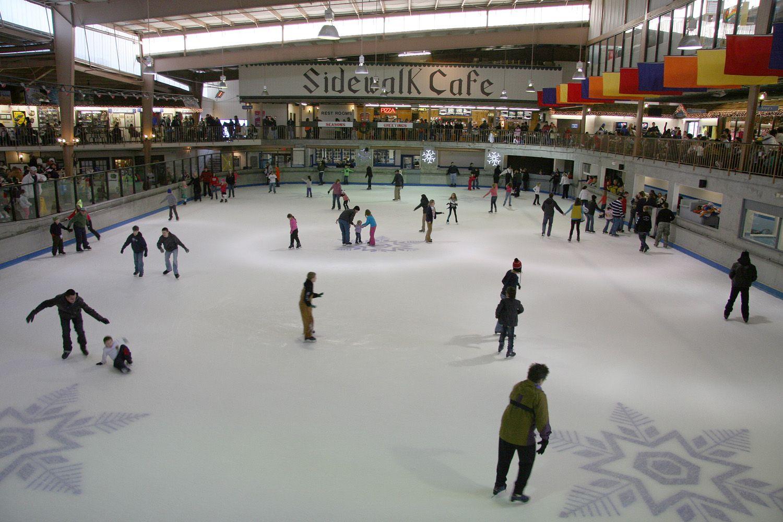 Come ice skate in gatlinburg at ober gatlinburg