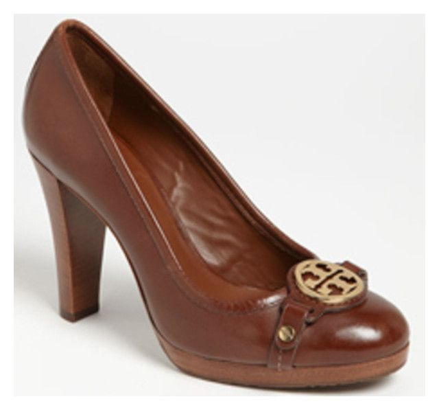 """""""Tory Burch 'Calista' Loafer Pumps"""" by taught-to-fly19 on Polyvore featuring moda"""