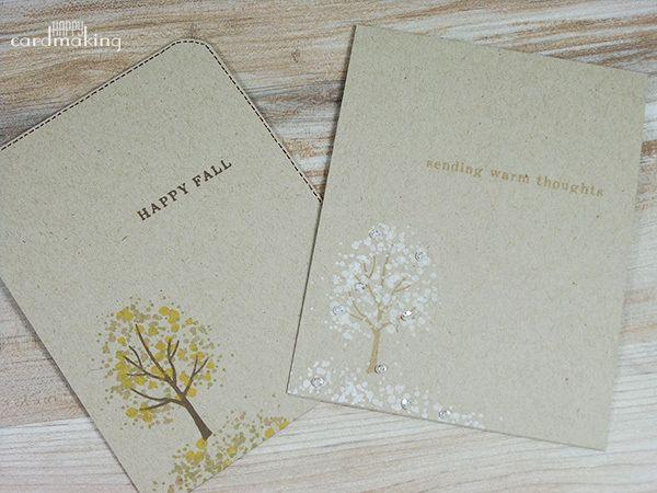 uniendo papel craft con blanco Tarjetas creativas, Papel craft y - tarjetas creativas