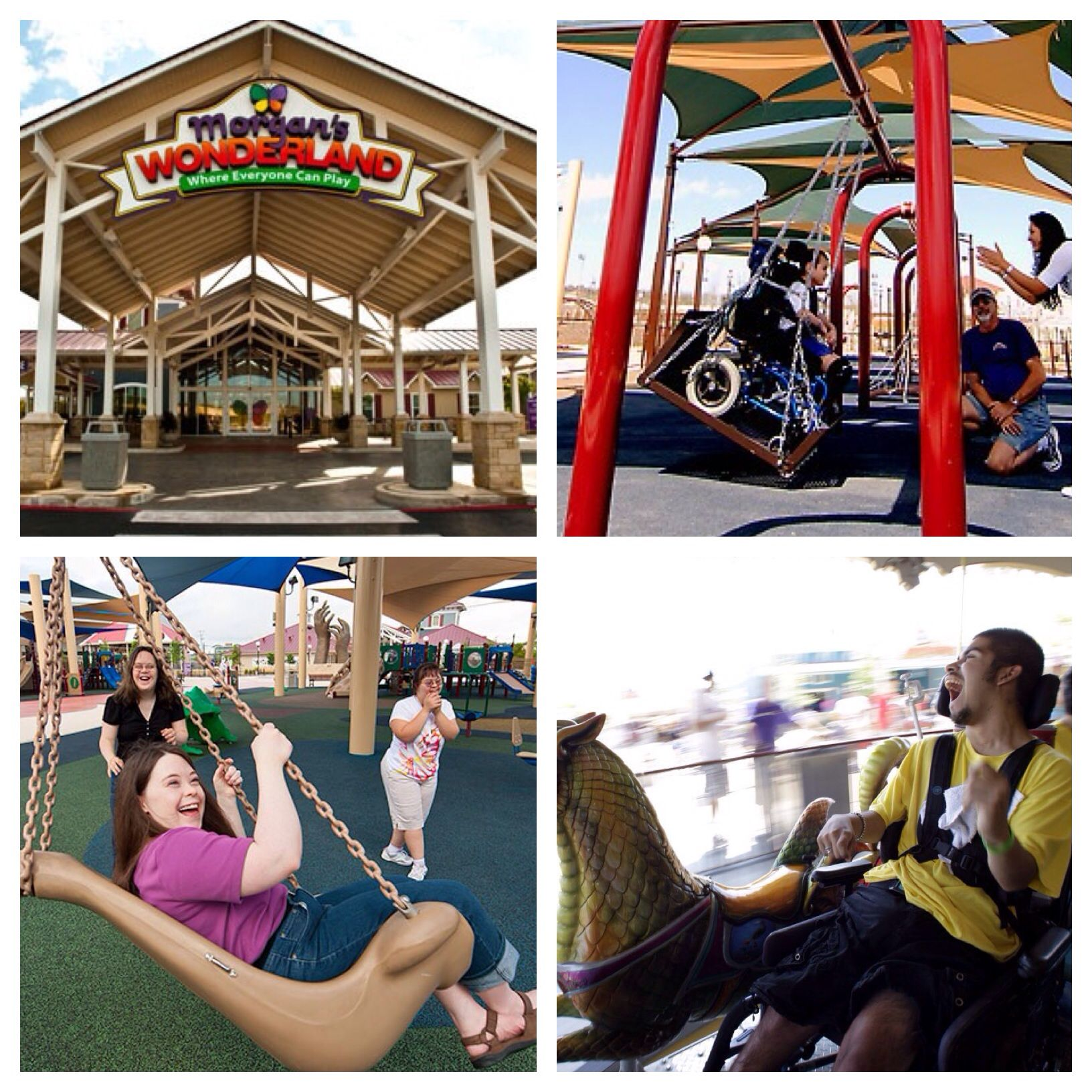 Morgan S Wonderland Is A 25 Acres Accessible Amusement