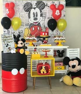 40 Ideas De Decoración Para Fiesta De Cumpleaños Mickey Mouse Fiesta De Mickey Mouse Fiestas Mickey Mouse Decoracion Fiesta De Mickey