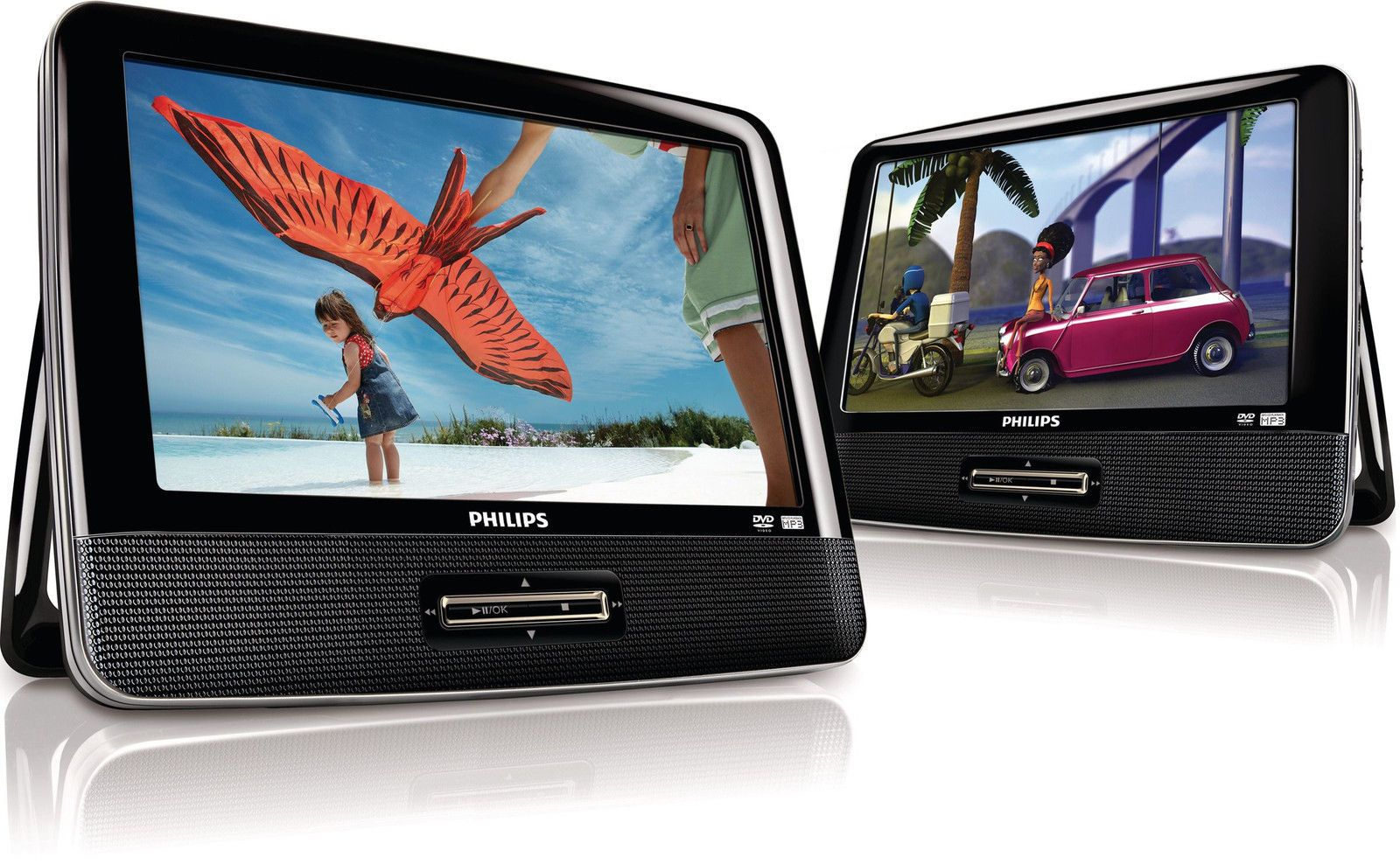 Philips Pd9016p 37 Lcd 9 Dual Portable Dvd Player Travel Home Snap Circuits Jr Sc 100 Electronics Discovery Kit New Factory Sealed Outlets
