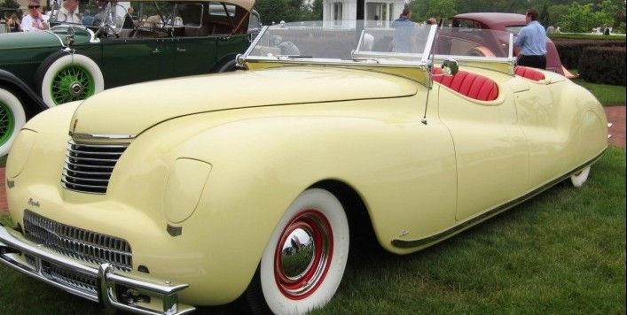 1941 Chrysler Newport Dual Cowl Phaeton . From the The Elegance at Hershey photo gallery.