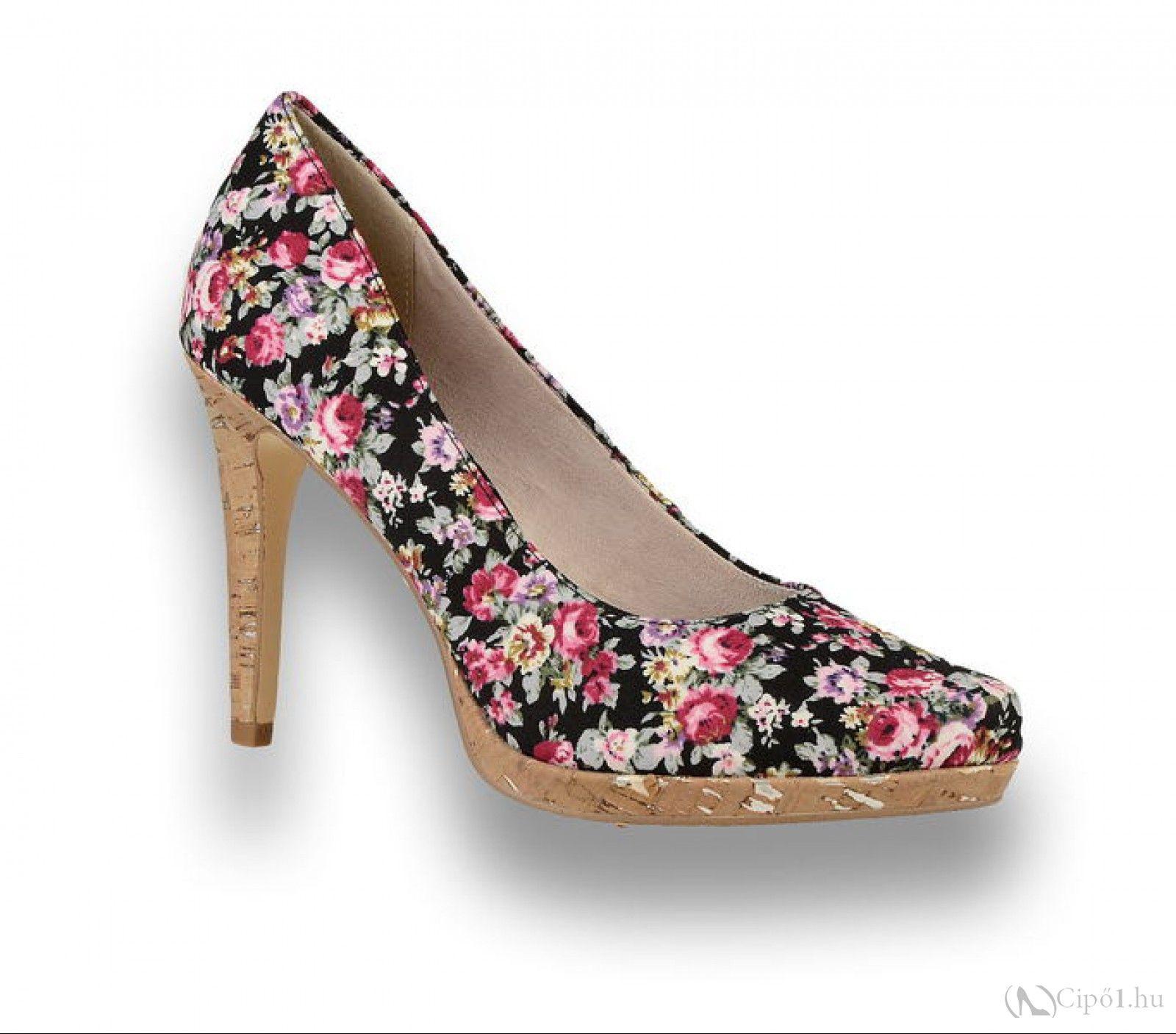 Tamaris Női cipő 1 22446 28 016 Tamaris virág színű női