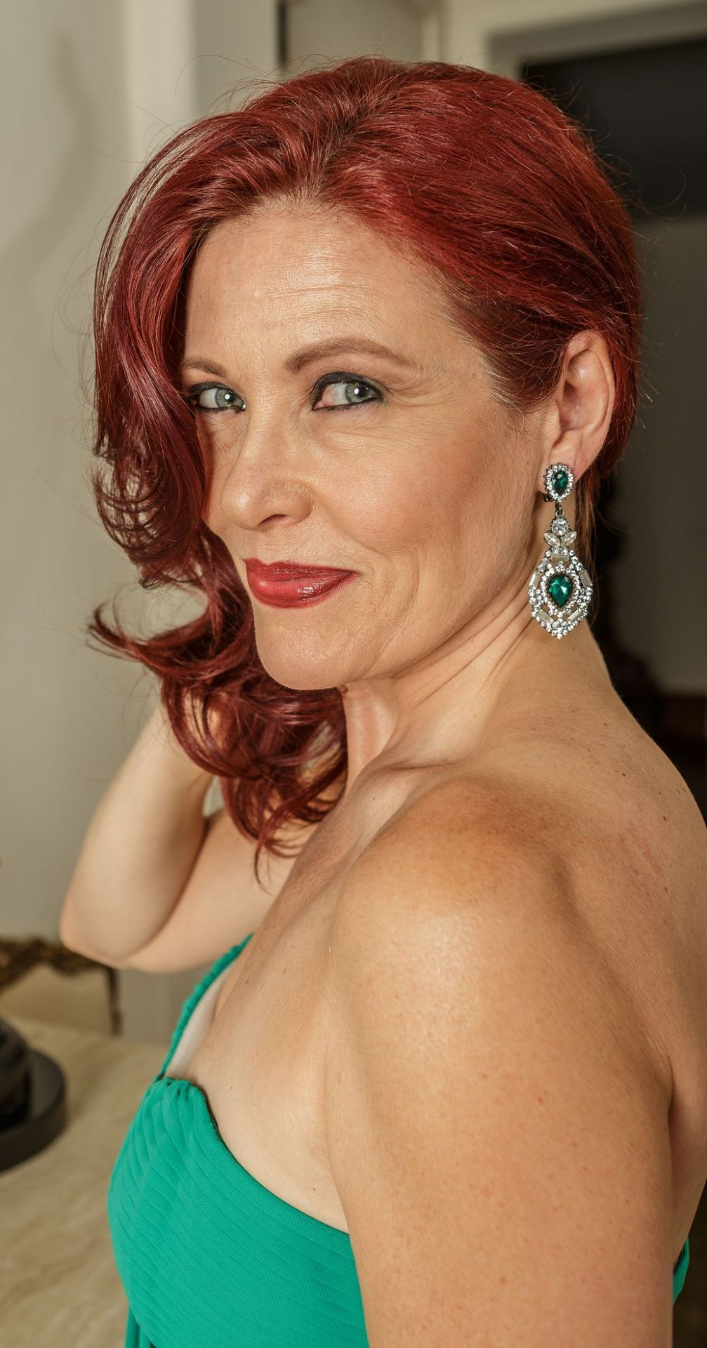 Angela Schijf Sexy pin on older gorgeous redheads