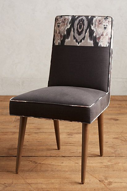 Stretched Ikat Zolna Dining Chair #anthropologie