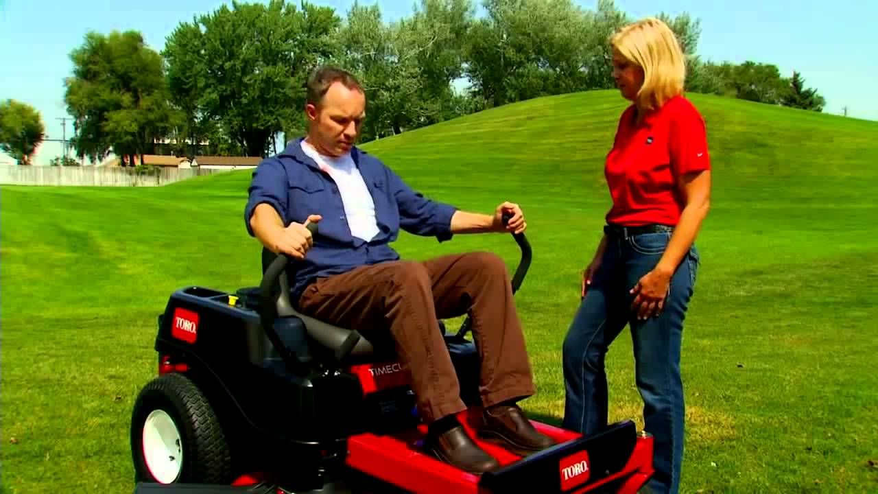 How To Operate A Zero Turn Riding Lawn Mower From Toro Riding Lawn Mowers Lawn Mower Mower