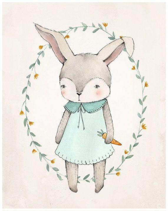 Las ilustraciones adorables de Kelli Murray #KelliMurray #ilustracion #ninos…