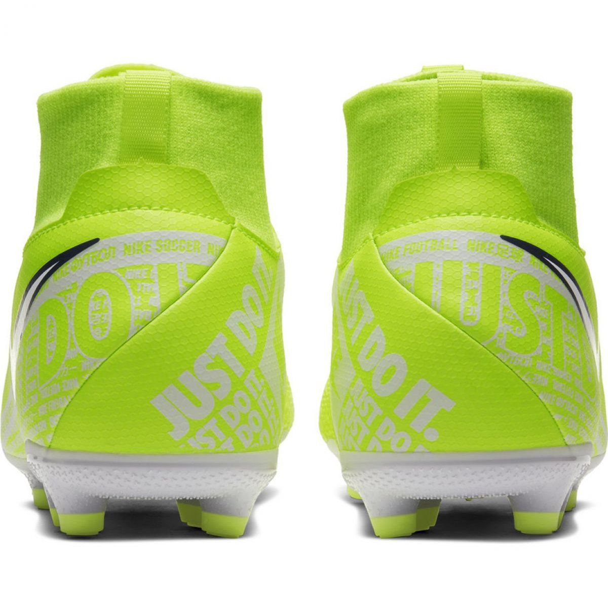 Buty Pilkarskie Nike Phantom Vsn Academy Df Fg Mg Jr Ao3287 717 Zolte Zolte Football Shoes Nike Shoes Shoes