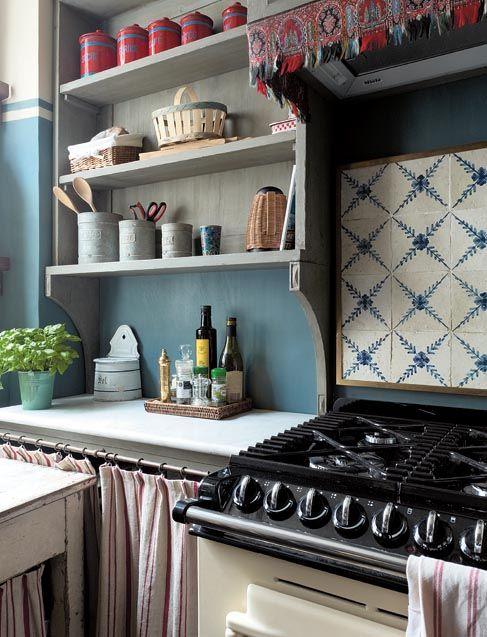 kitchen in Paris of Lisa Sartori Rimini ~ Studio Peregalli