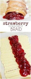 Strawberry Crescent Braid