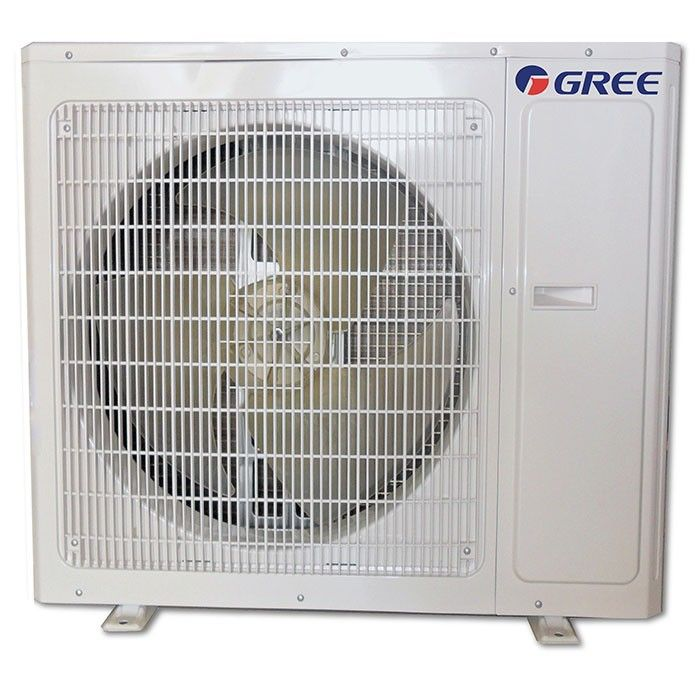 36 000 Btu 21 Seer Gree Mini Split Multi21 1 5 Zone Heat Pump Condenser Heat Pump Ductless Mini Split Heat Pump System
