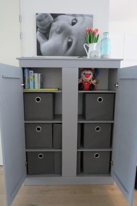 Speelgoedkast - Speelgoed - Opbergruimte - Kast - Interieur ...