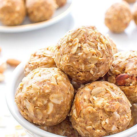 No Bake Peanut Butter Coconut Bites Vegan Gluten Free Recipe