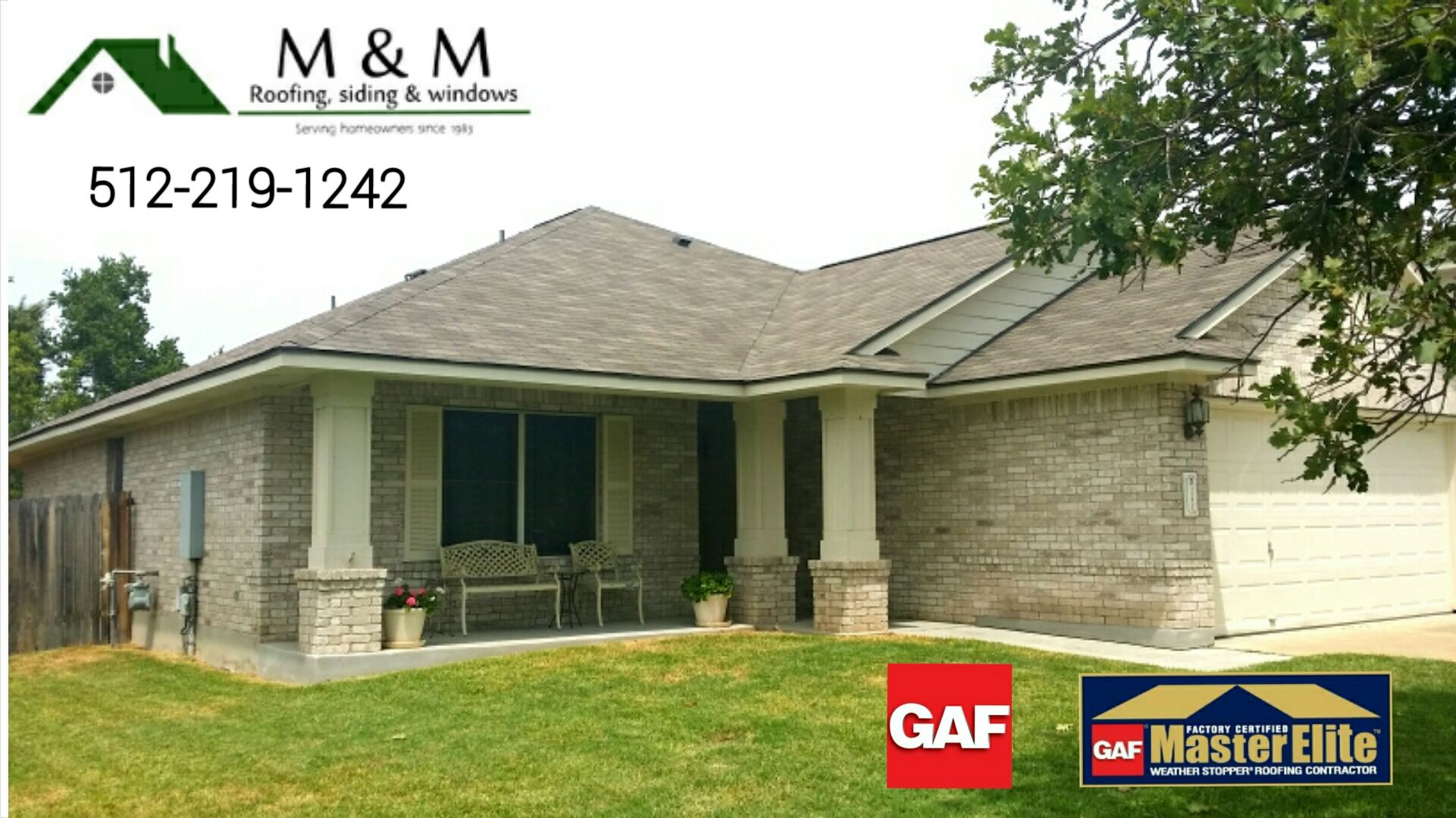Best Roof Replacement Gaf Royal Sovereign Weathered Gray Shady 640 x 480
