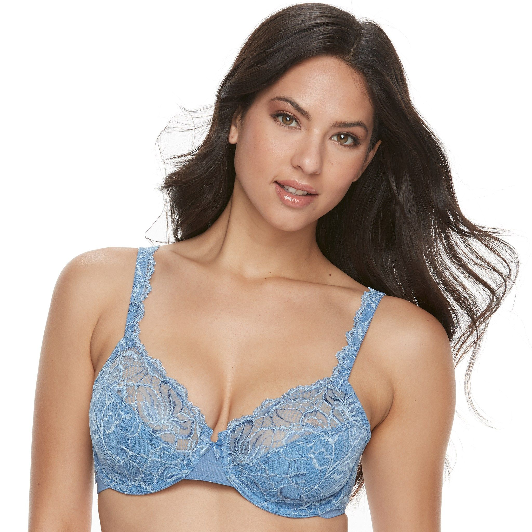 99f2dca182207 Bali Bras  Lace Desire Lightly Lined Underwire Bra 6543