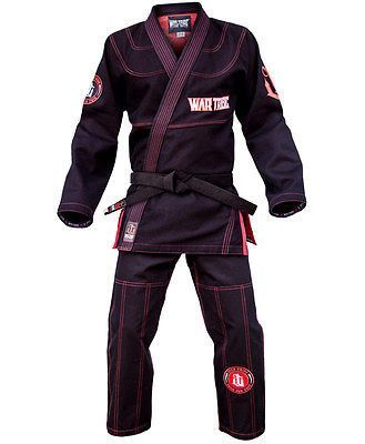 Black, A4 Century Spider Monkey Brazilian Jiu-Jitsu Uniform