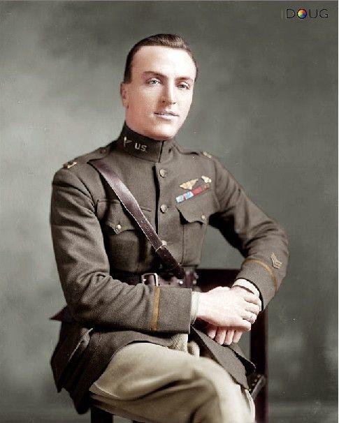 Captain Edward Vernon Rickenbacker Was A Ww1 American Ace Fighter