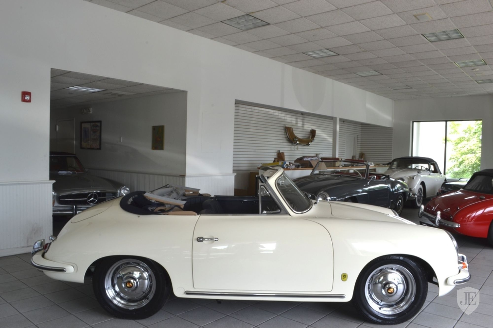 Click To View In Gallery Porsche 356 Cabriolet 48 66 Pinterest